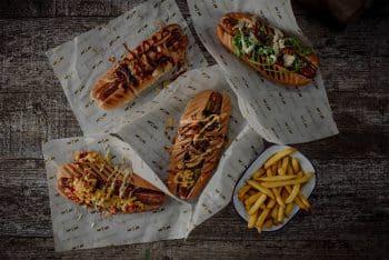 Hand made, craft smoked, Artisan hot dogs