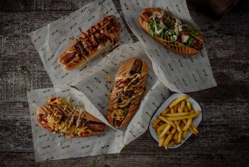 Hand made, craft smoked, Artisan hot dogs